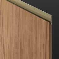 Professional Door - Vertical Grain Wood
