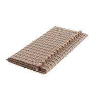GL Small Mattress Checks Terracotta