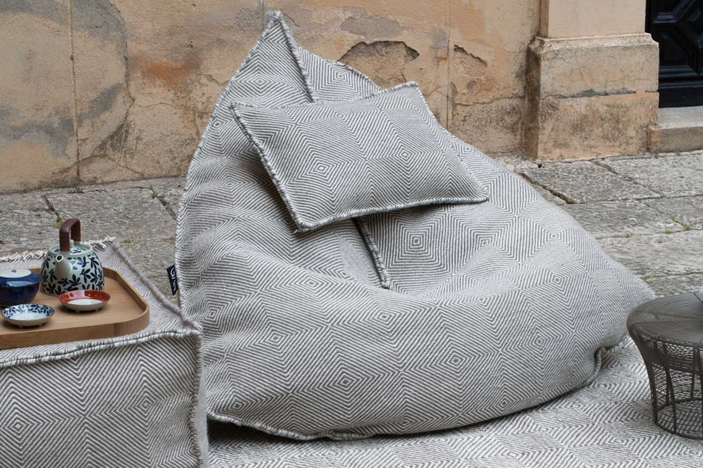 Sail Pouf by Gan Rugs product image 2