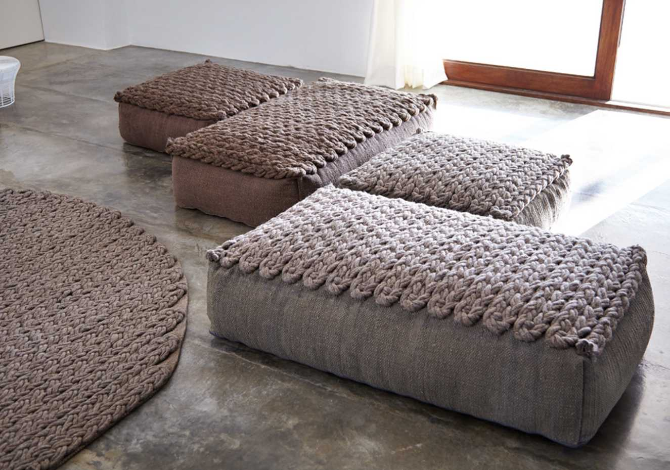 Trenzas Poufs by Gan Rugs product image 2