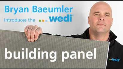 Wedi Building Panels