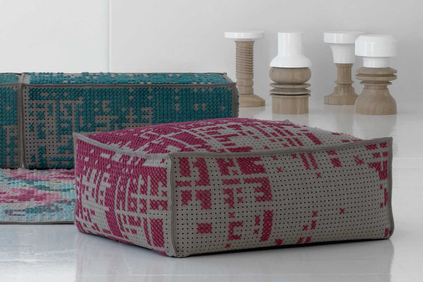 Canevas Poufs by Gan Rugs product image 3