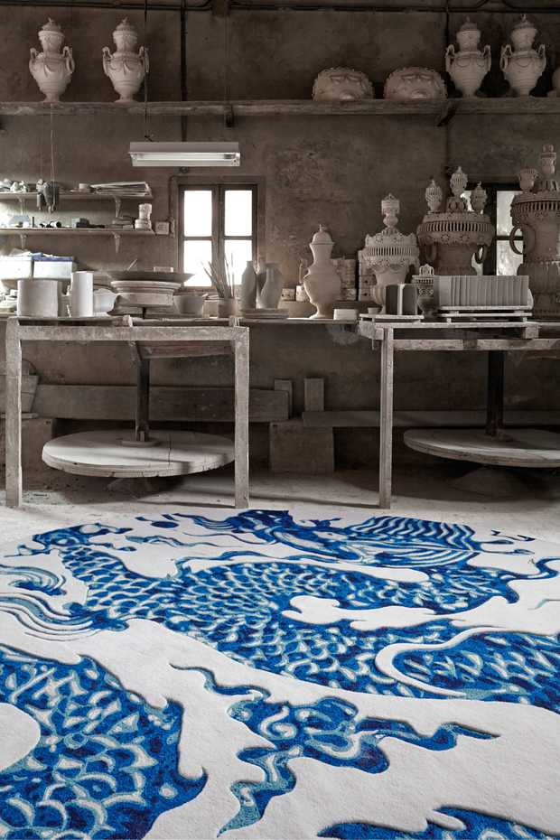Blue China by Gan Rugs product image 1