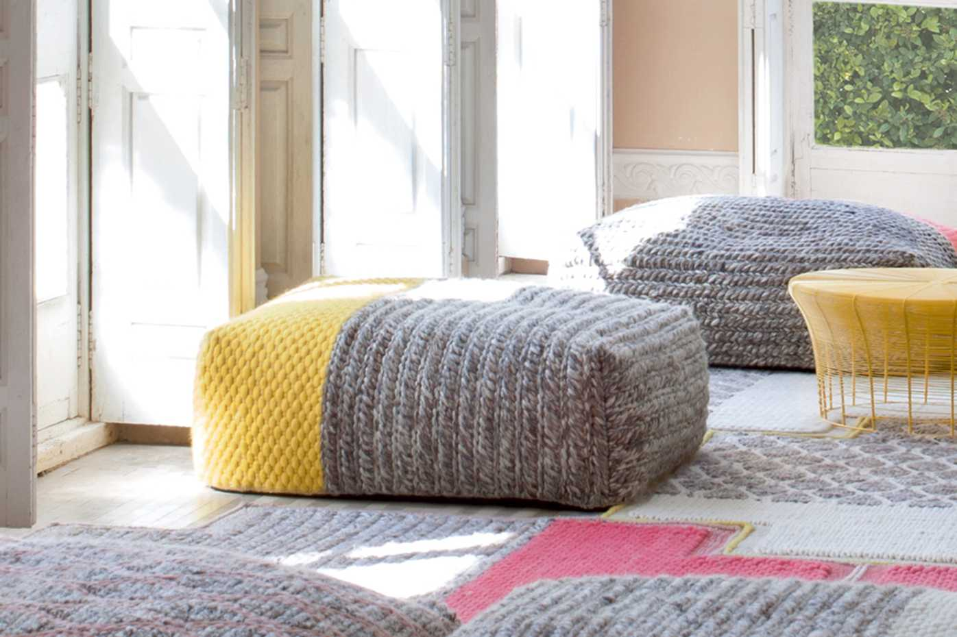 Mangas Space Poufs by Gan Rugs product image 1