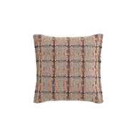 GL Small Cushion Check Terracotta