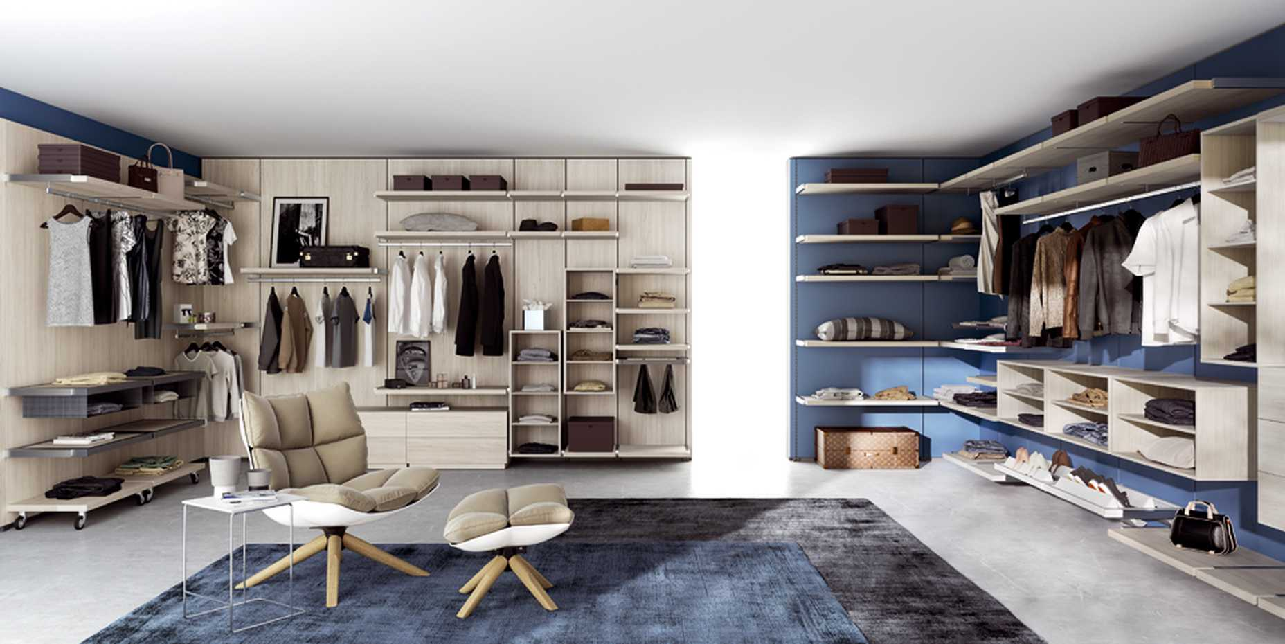 Rack Walk-in Wardrobe by Mercantini product image 1