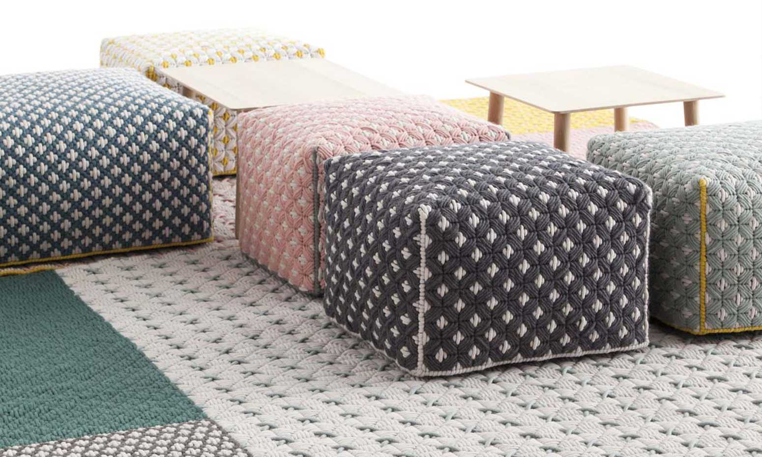 Silai Poufs by Gan Rugs product image 3