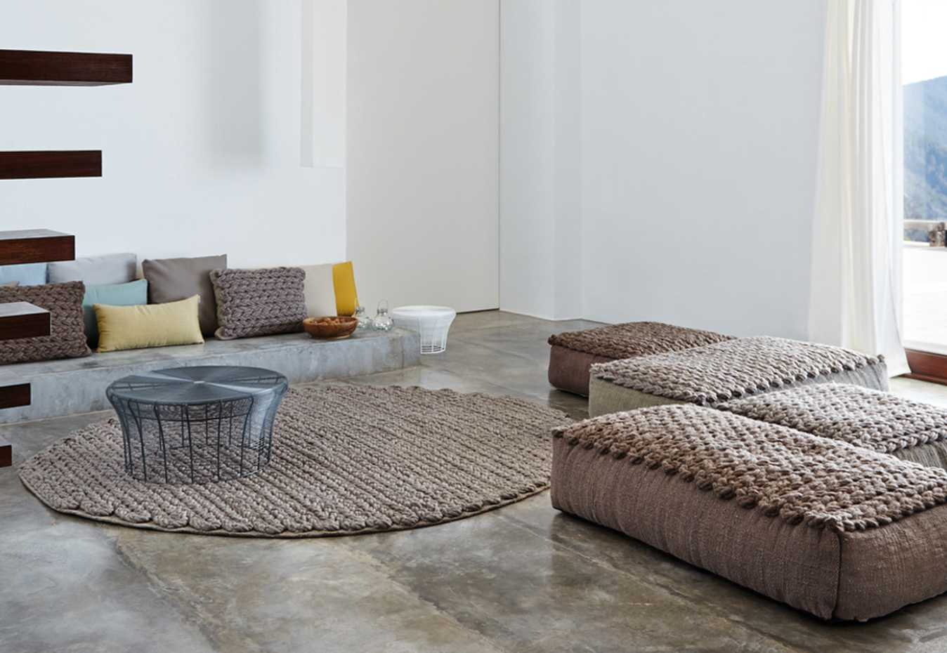 Trenzas Poufs by Gan Rugs product image 1