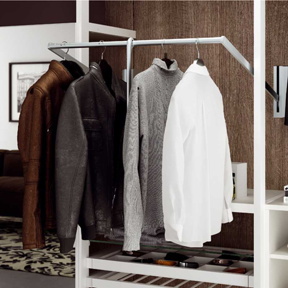 Walk-in Wardrobe with Framed Side by Mercantini product image 7