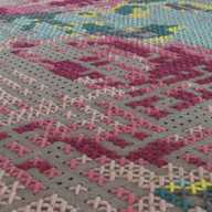 Canevas Rug Flower Colour
