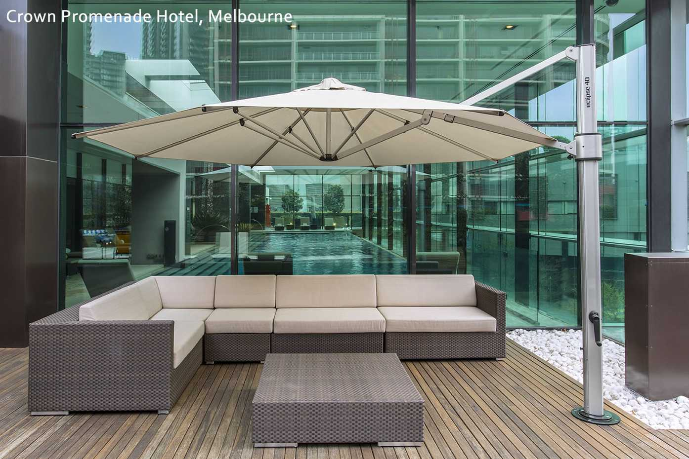 Eclipse Cantilever  by Instant Shade Umbrellas product image 6