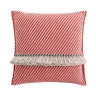 GL Big Cushion Diagonal Almond - Red