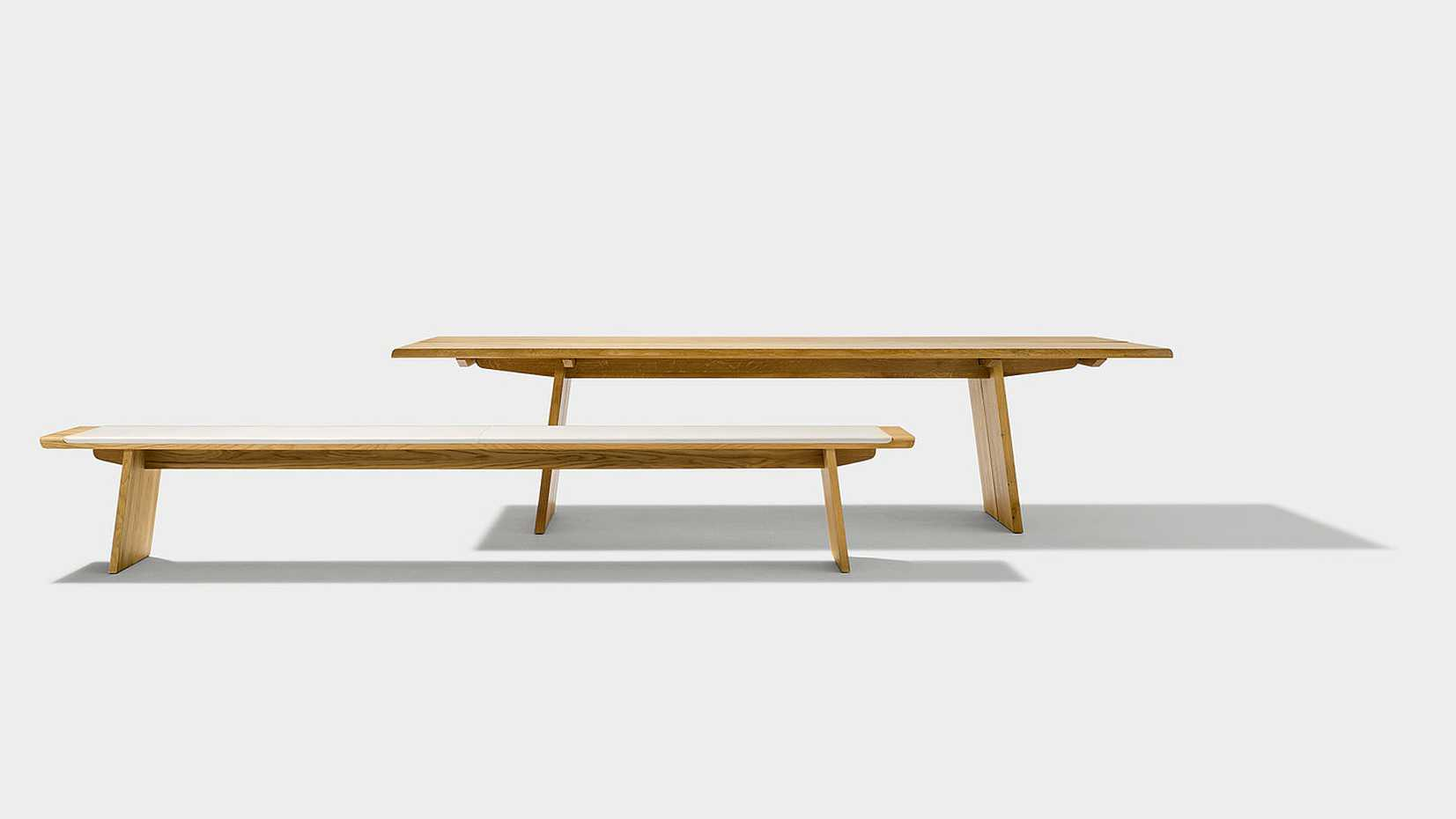 Nox bench Wooden Panels by Team 7 product image 1