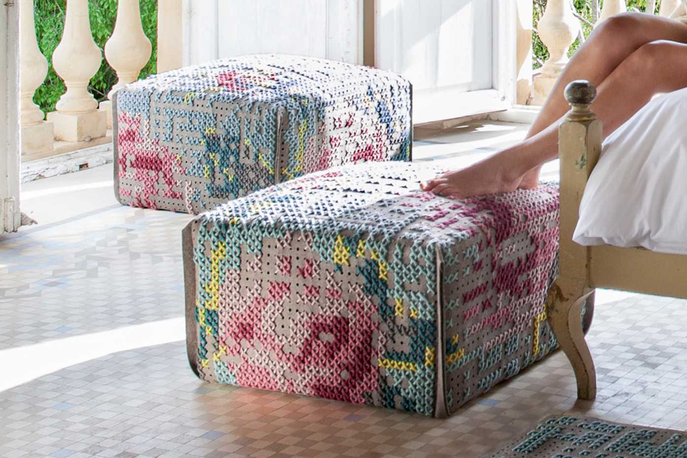 Canevas Poufs by Gan Rugs product image 6