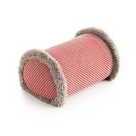 GL Big Roll Diagonal Almond - Red