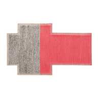 Mangas Space Plait Rug Coral