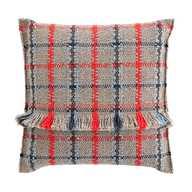 GL Big Cushion Tartan Blue
