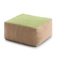 Raw Small Pouf Lima