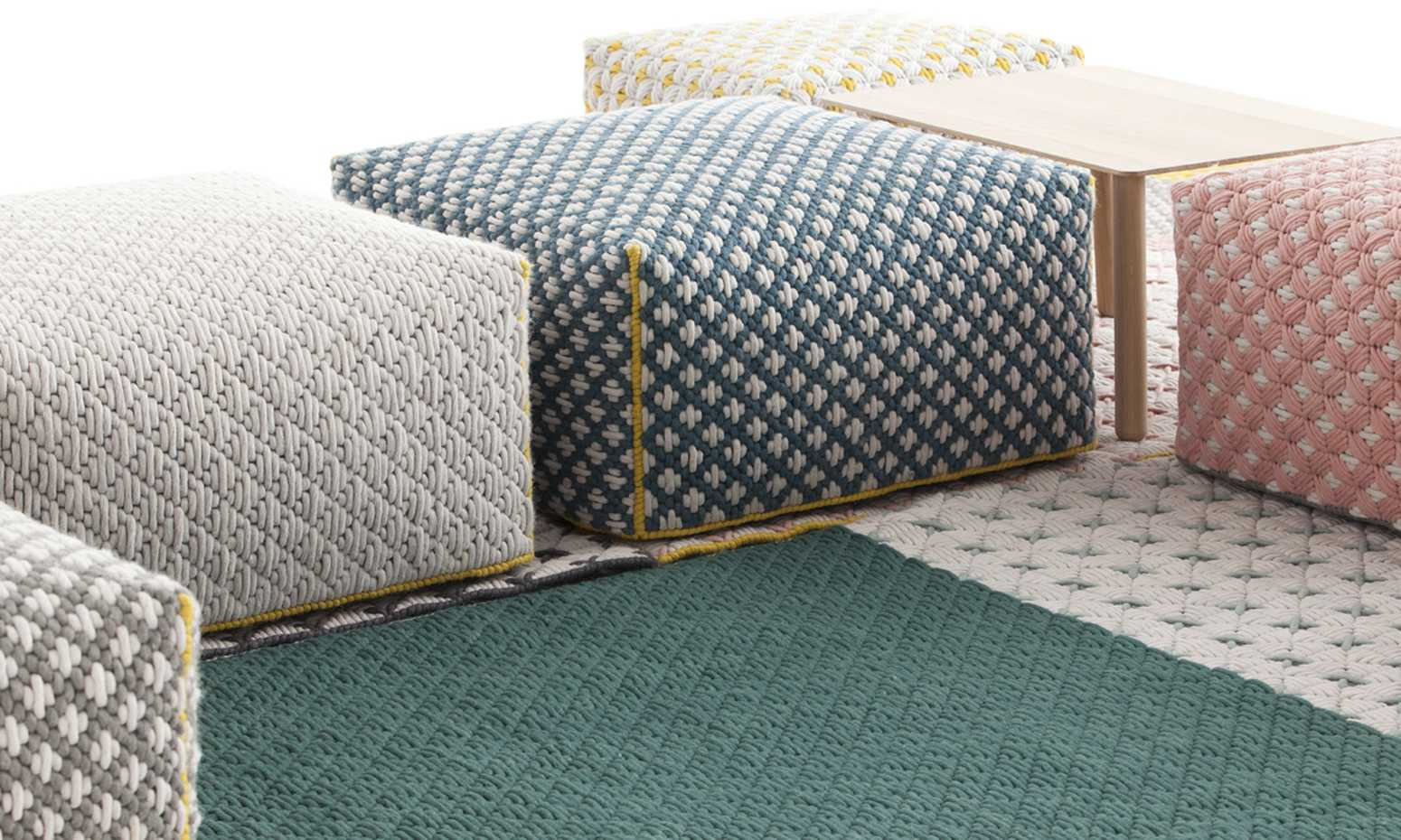 Silai Poufs by Gan Rugs product image 7