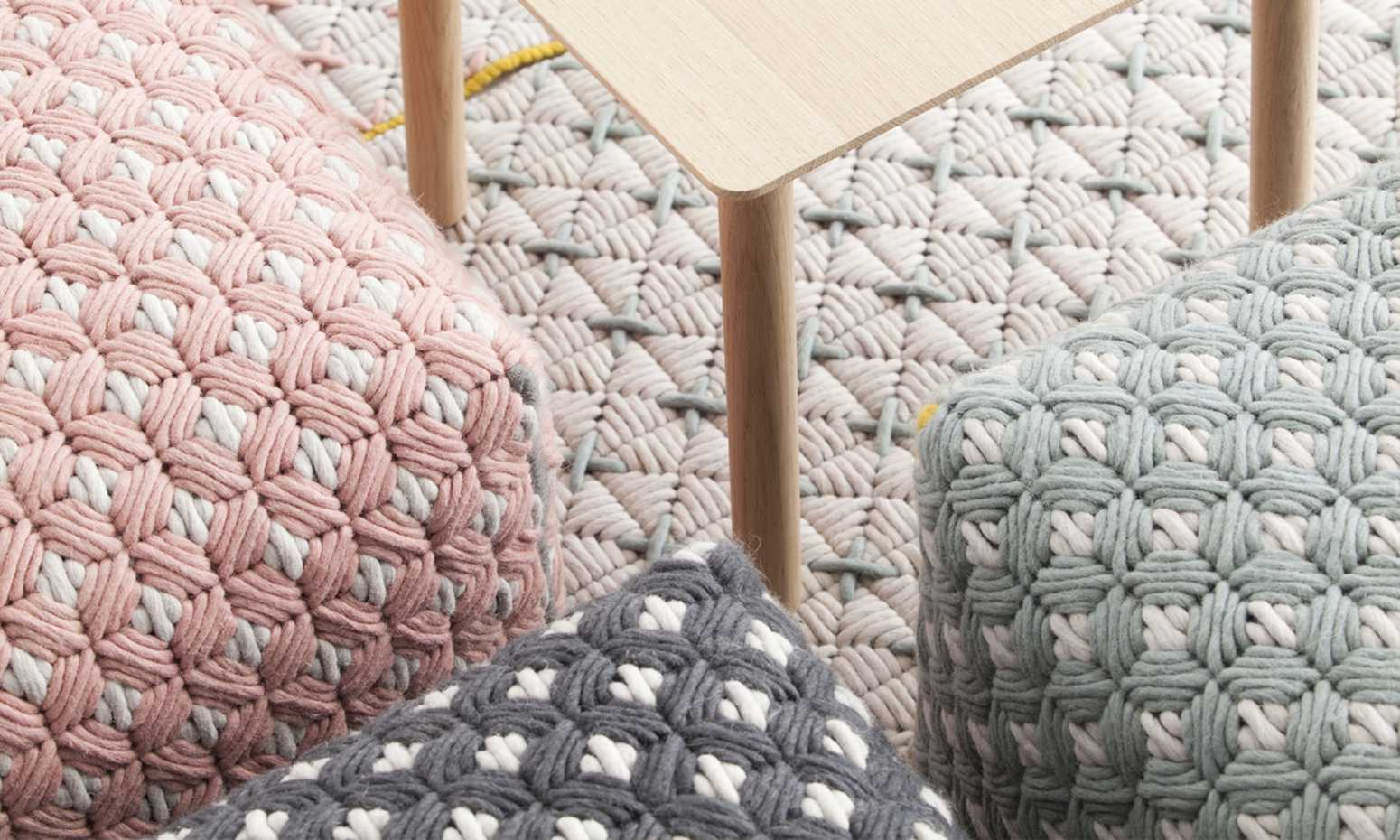 Silai Poufs by Gan Rugs product image 2