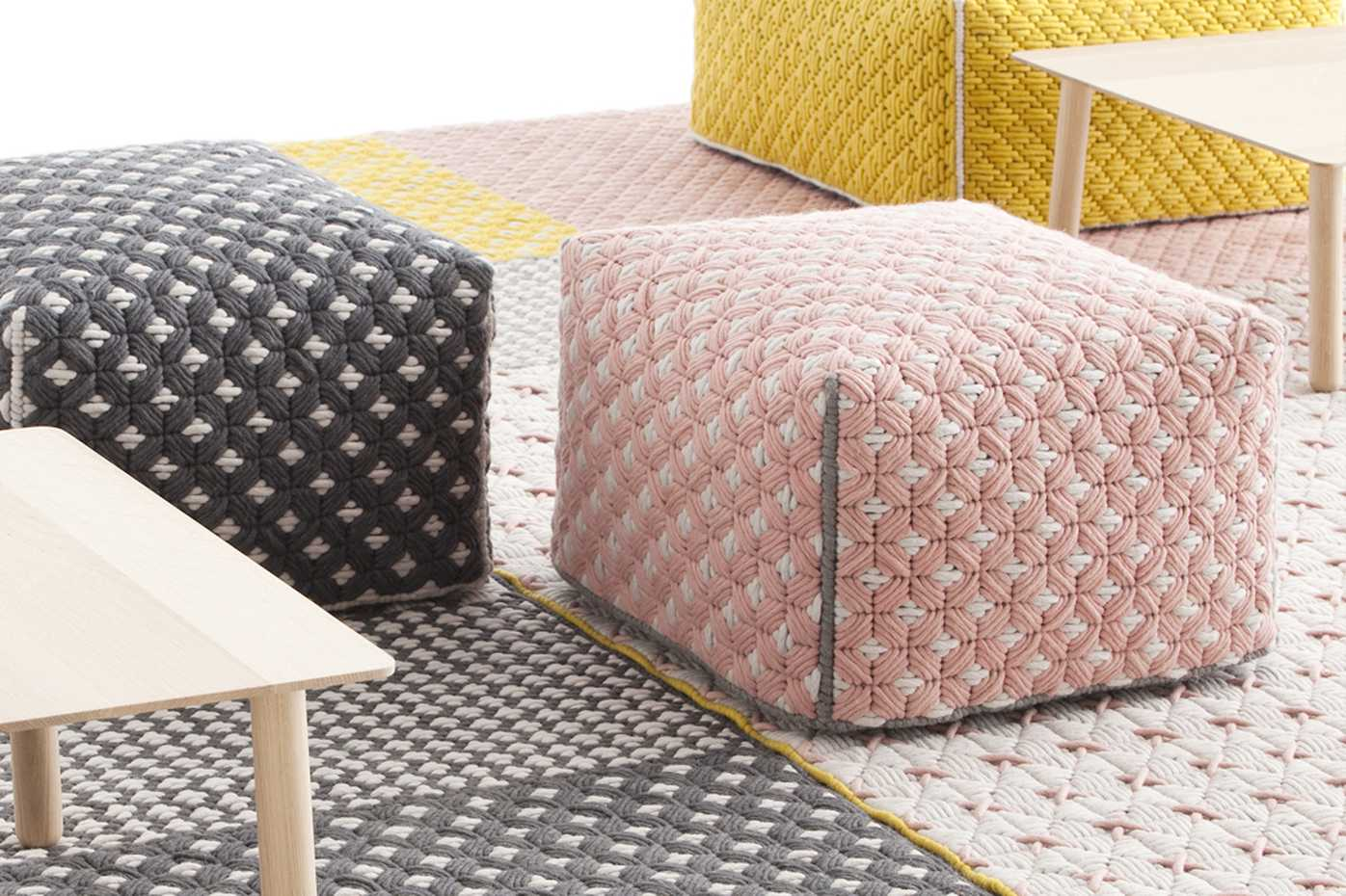 Silai Poufs by Gan Rugs product image 1