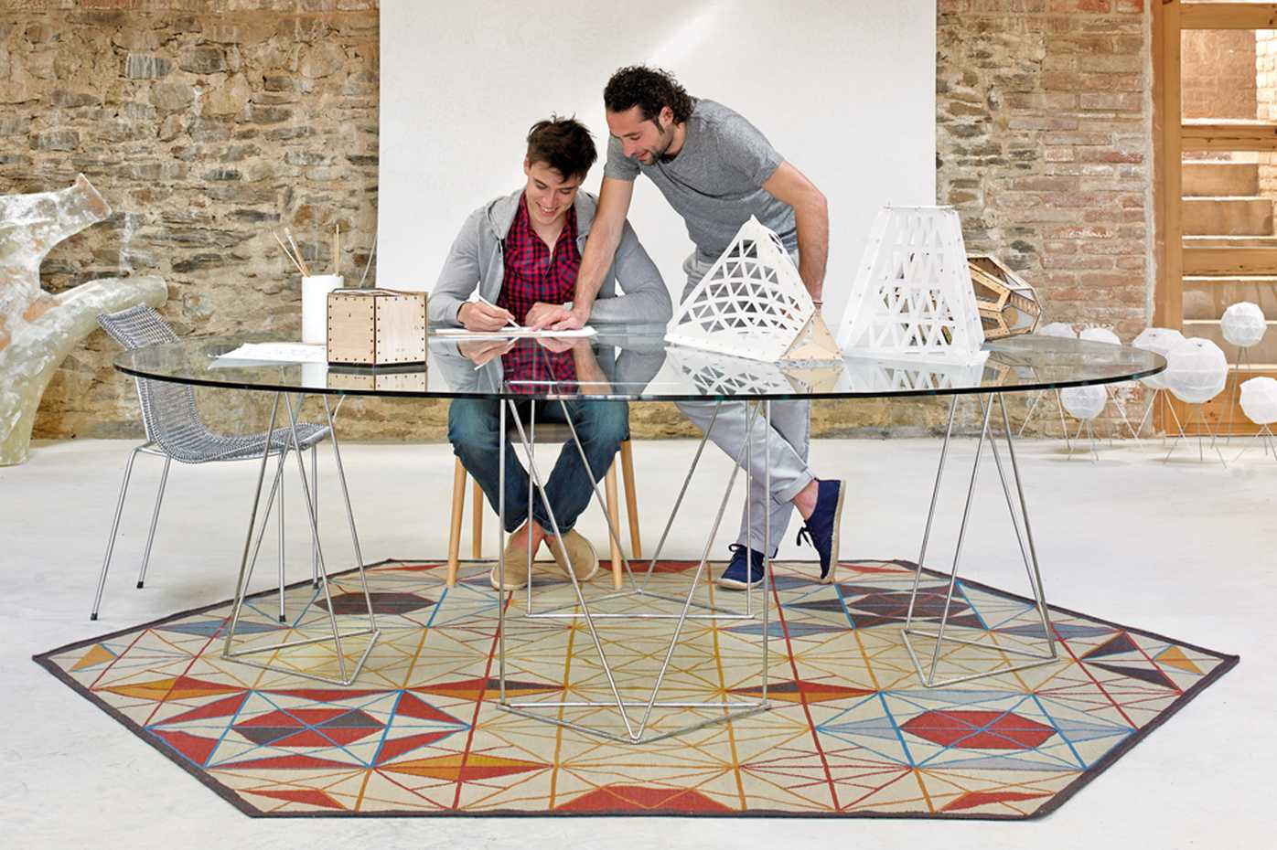 Hexa by Gan Rugs product image 1