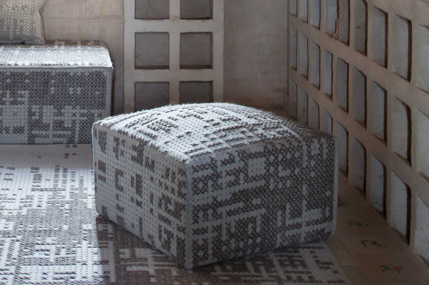 Canevas Poufs by Gan Rugs product image 1