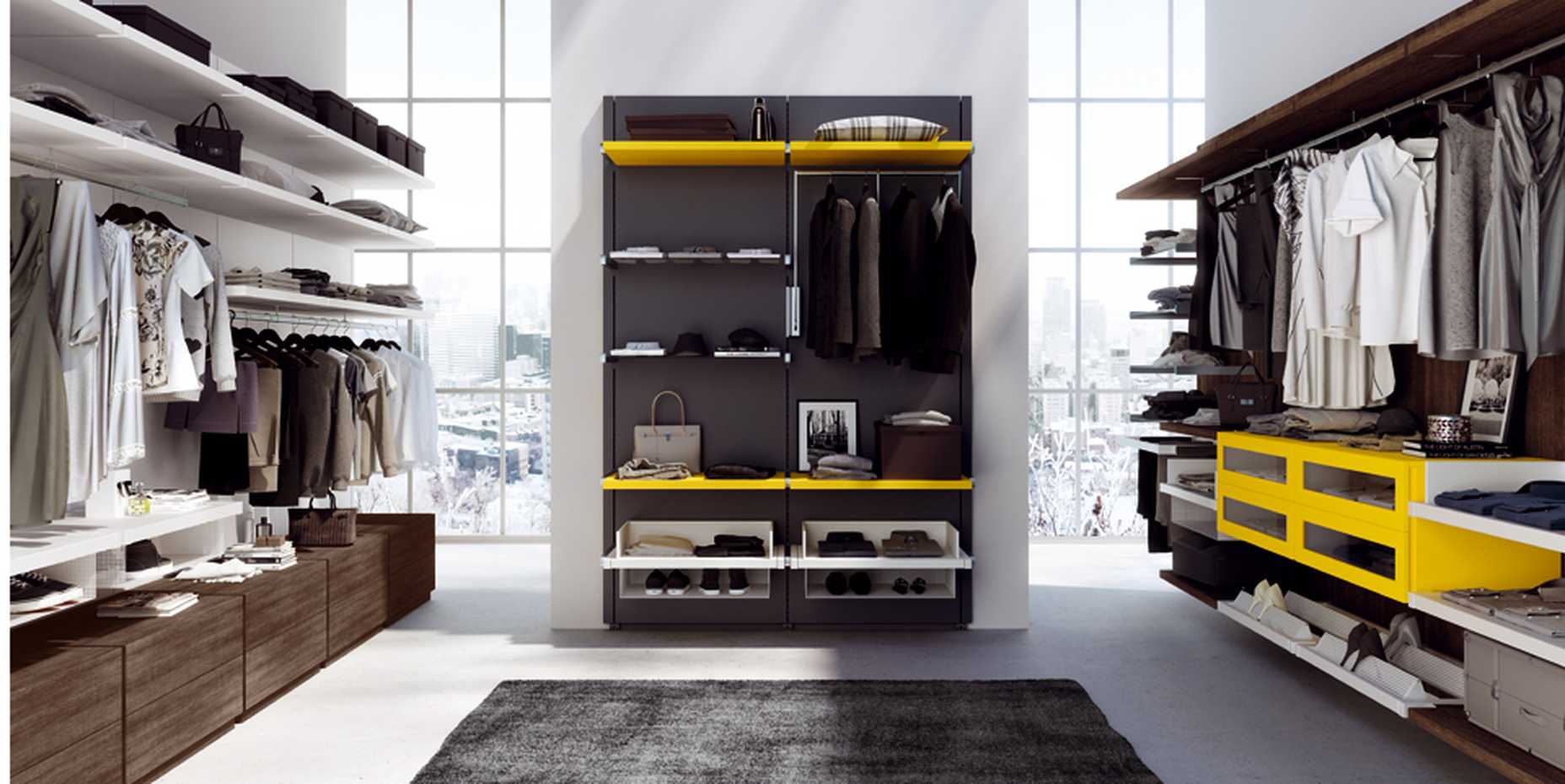 Rack Walk-in Wardrobe by Mercantini product image 2