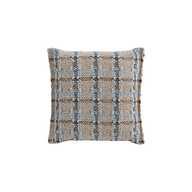 GL Small Cushion Check Blue