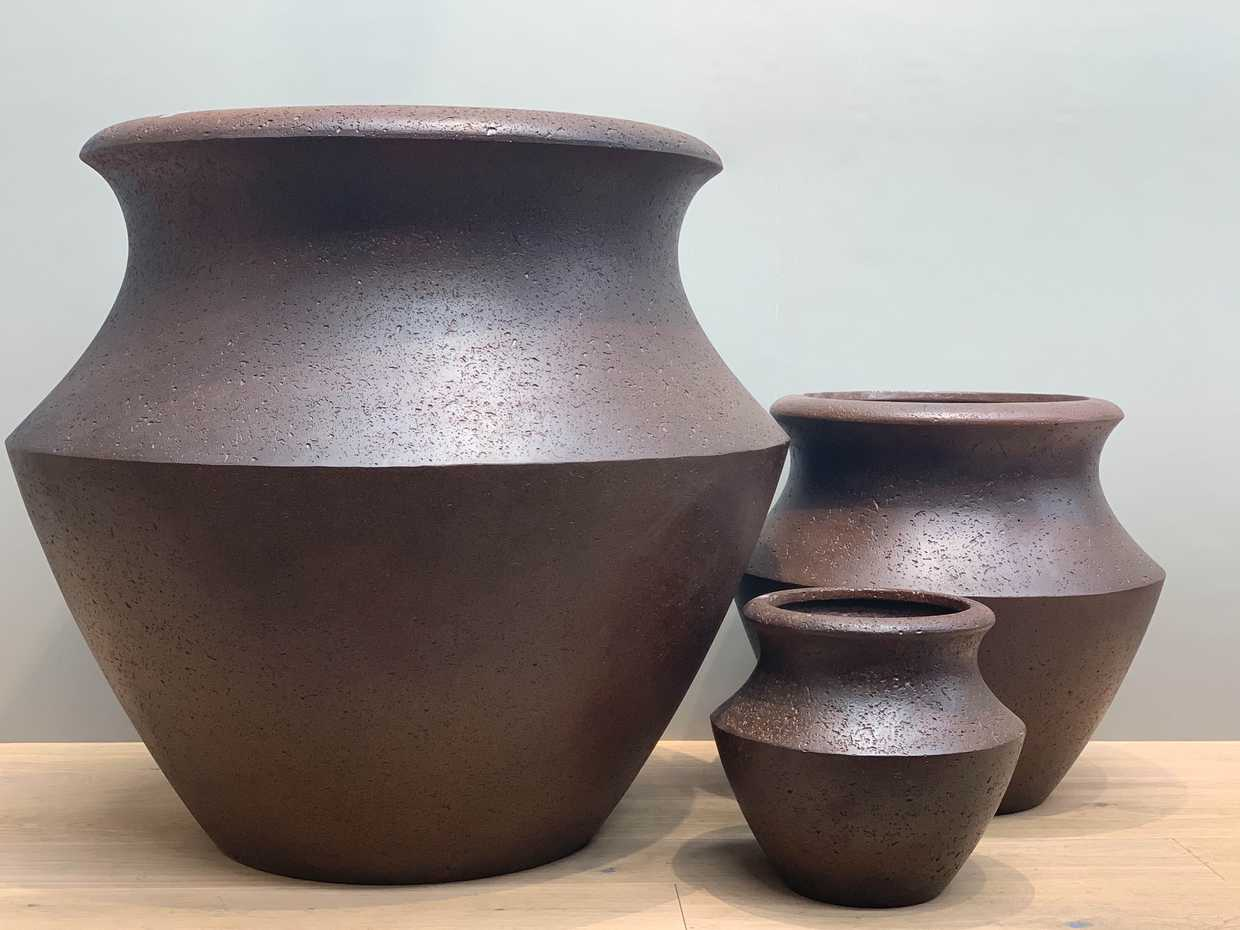 Ecolite Urn (Set of 3) $715 INCL GST by European Ceramics product image 1