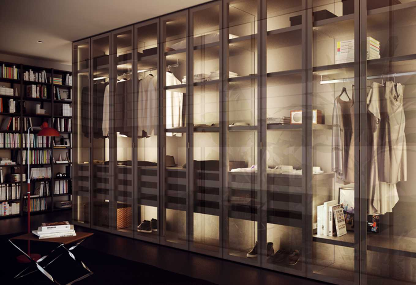 Walk-in Wardrobe with Framed Side by Mercantini product image 2