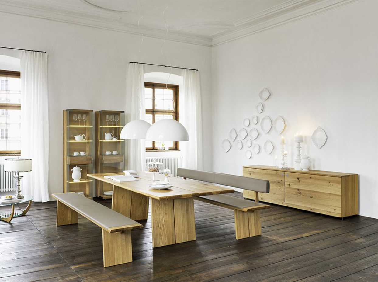 Nox bench Wooden Panels by Team 7 product image 3