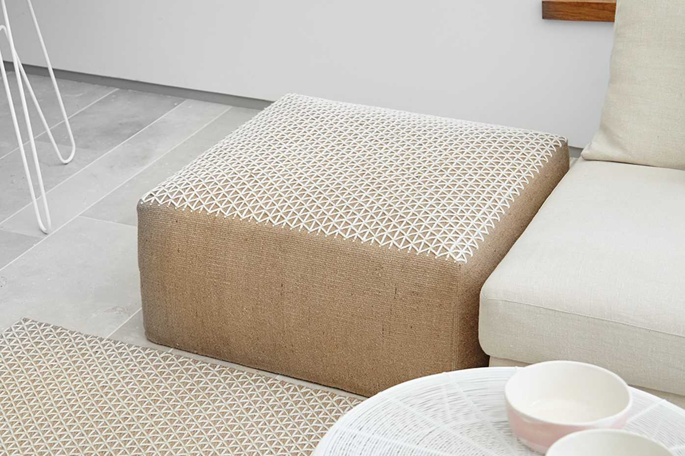 Raw Poufs by Gan Rugs product image 1
