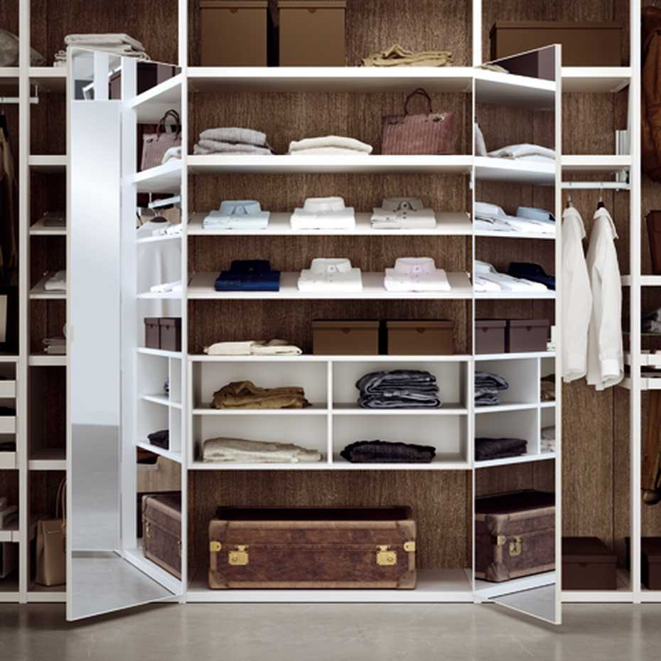 Walk-in Wardrobe with Framed Side by Mercantini product image 6