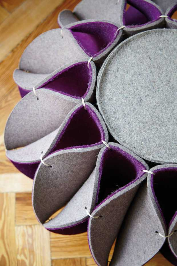 Ruff Pouf by Gan Rugs product image 3