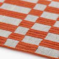 Bandas Space Individual Rug B Orange