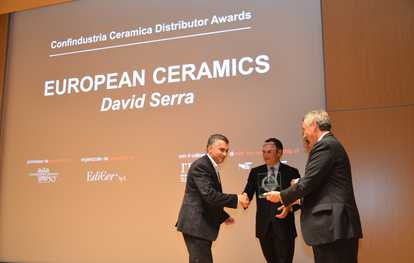European Ceramics receives the Confidustria Ceramica Distributor Award 2014
