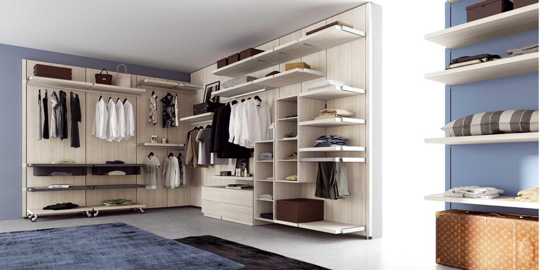 Rack Walk-in Wardrobe by Mercantini product image 7