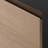 Professional Door - Horizontal Grain Wood