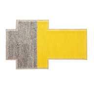 Mangas Space Plait Rug Yellow