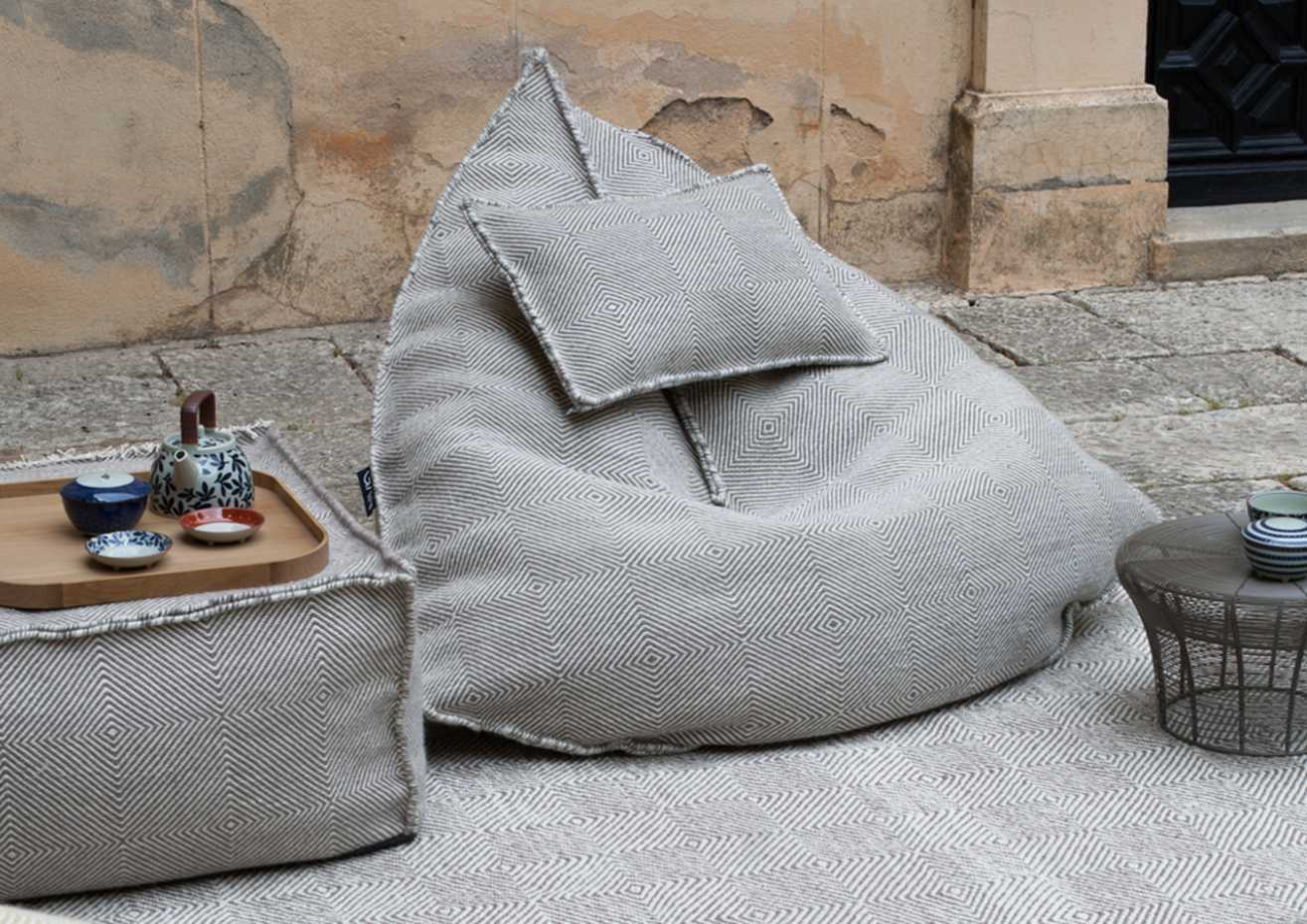 Sail Square Pouf by Gan Rugs product image 5