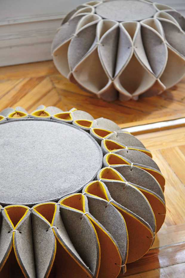 Ruff Pouf by Gan Rugs product image 2