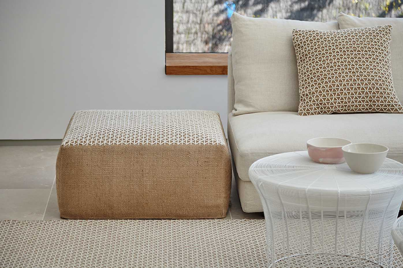 Raw Poufs by Gan Rugs product image 2