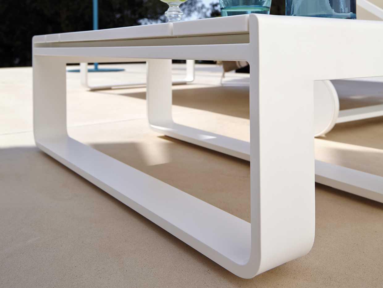 Flat Table Chaiselongue - Flat by Gandia Blasco product image 1