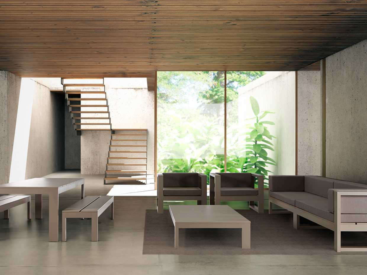 Yondal Bench by Gandia Blasco product image 1