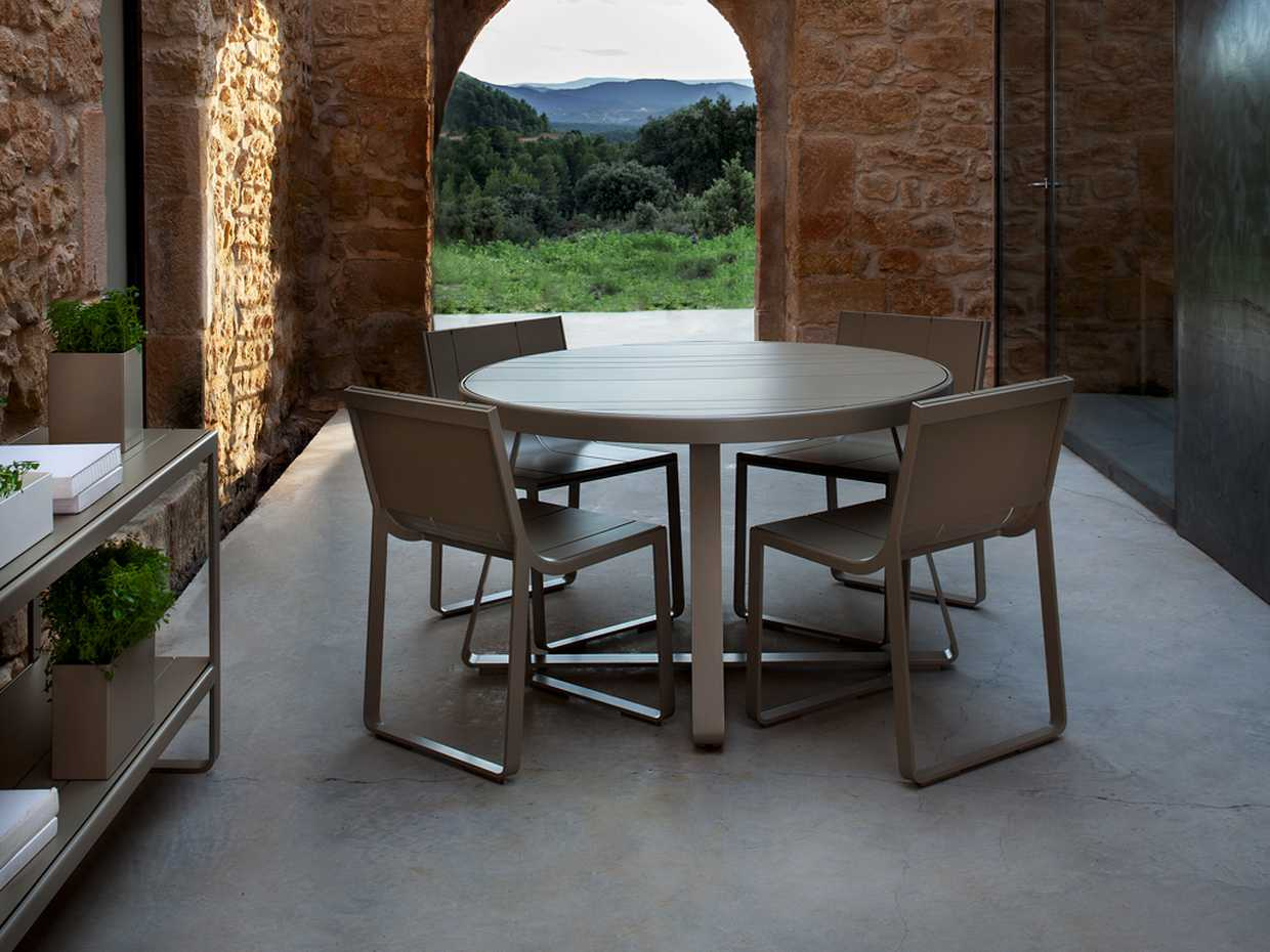 Flat high Circular Table - Flat by Gandia Blasco product image 3
