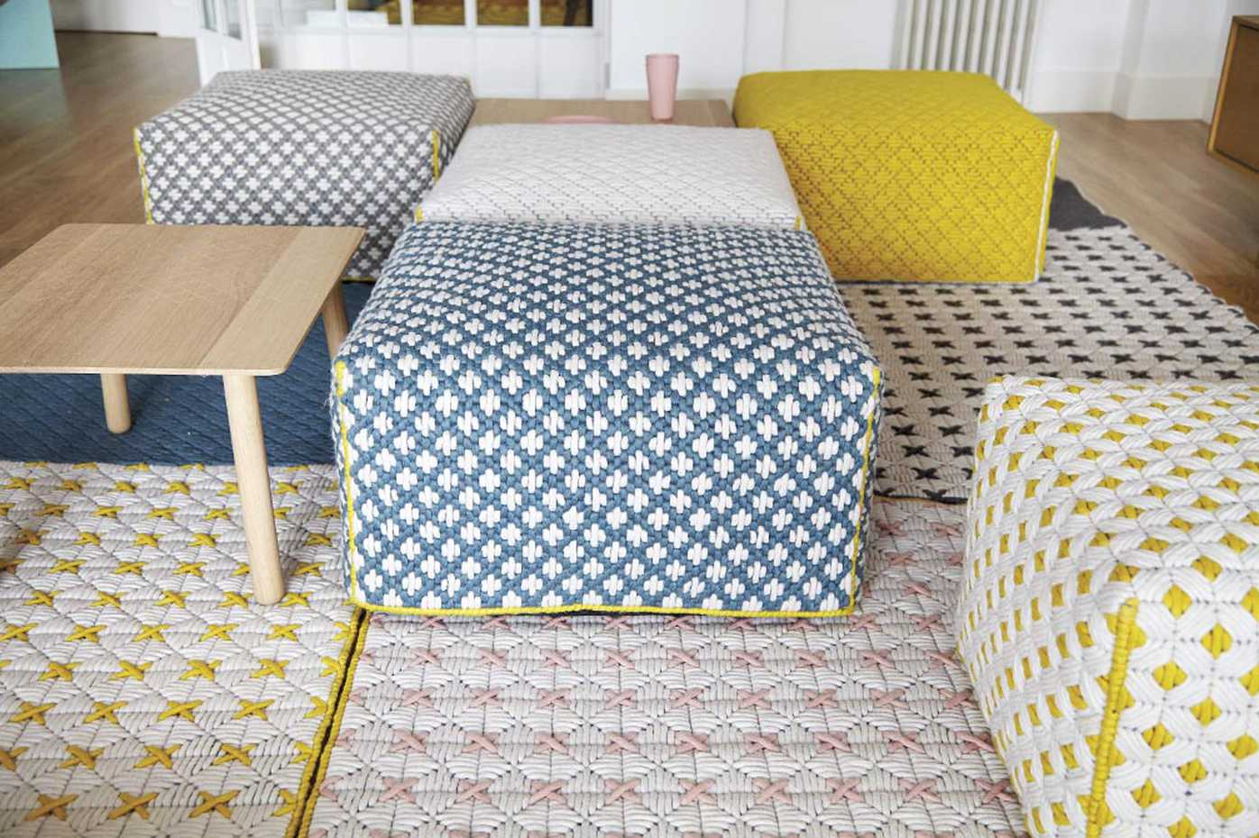 Silai Poufs by Gan Rugs product image 9