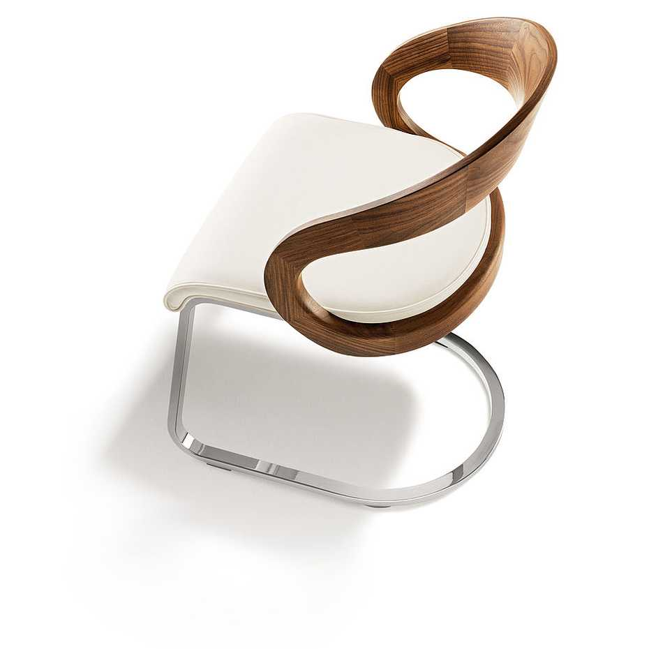 Girado Cantilever Chair by Team 7 product image 1