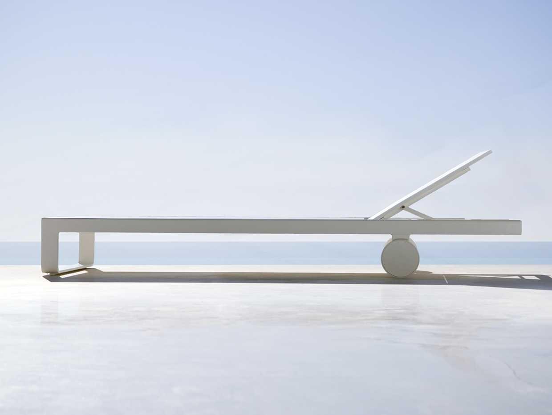 Flat Chaise Longue - Flat by Gandia Blasco product image 1