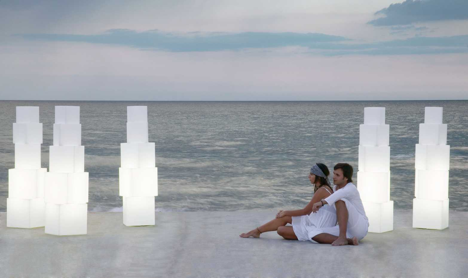 Cubos Outdoor Lamp by Gandia Blasco product image 1
